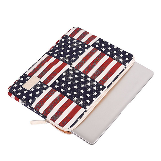 11.6 Inch Laptop / 12 Inch Laptop / 13.3 Inch Laptop Sleeve / Tablet Cases Polyester Fashion / National Flag for Men for Women for Business Office Waterpoof Shock Proof
