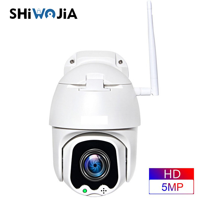 INQMEGA PTZ IP Camera Wifi 360 15cm Mini 1080P Wireless 4X ZOOM Dual Lens Outdoor Security Surveillance Home Smart Cloud Camera