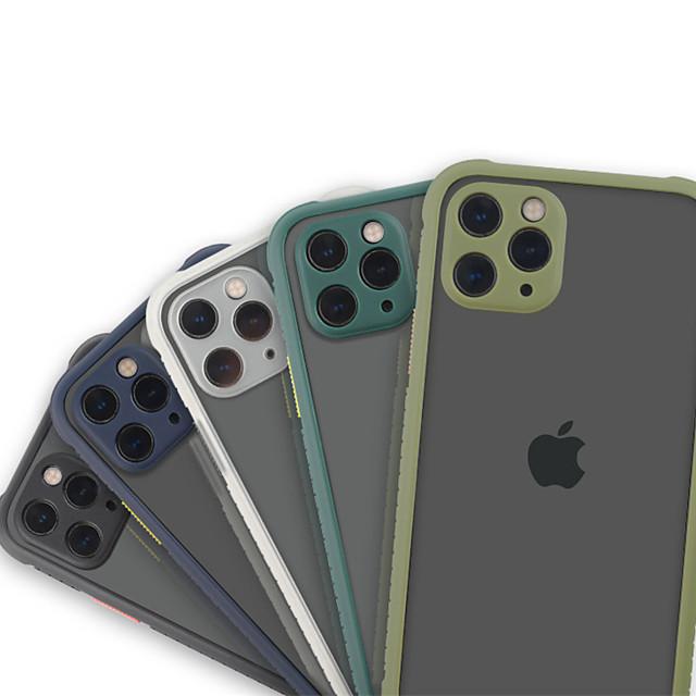 Case For iPhone 7 8 SE 7plus 8plus  XR XS XSMAX  X 11 11Pro 11ProMax Shockproof Transparent Back Cover Transparent TPU