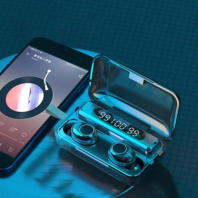 F9-30 TWS Wireless Earphones Bluetooth 5.0 Headphone with 2000mah Power Bank 9D Stereo