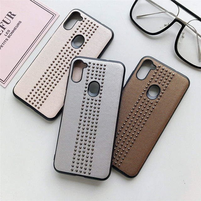 Case For Samsung Galaxy A31 A51 A10 A20 A30 A40 A40S A50 A60 A70 A90(5G) M10 M20 M21 M30 M30S Note 20 Shockproof Ultra-thin Back Cover Solid Colored PC Metal