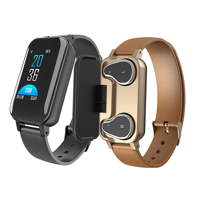 T89 Smart Watch Bluetooth5.0 Headphone Call Reminder Heart Rate Smartwatch IP67 Waterproof Support Siri BT Call For Android iPhone