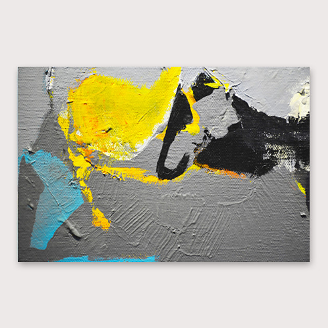 IARTS Hand Painted abstract Oil Painting with Stretched Frame For Home Decoration With Stretched Frame