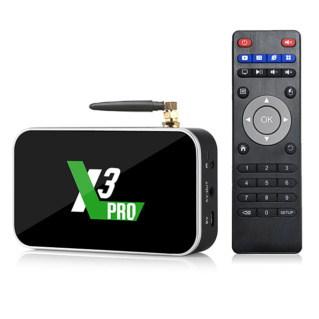 Ugoos X3 CUBE PRO PLUS TV Box Android 9.0 4GB RAM 32GB X3 Plus 64GB DDR4 Amlogic S905X3 WiFi Bluetooth 1000M 4K X3 Cube 2GB 16GB Set Top TVBox