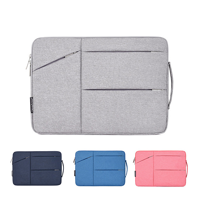 11.6 Inch Laptop / 12 Inch Laptop / 13.3 Inch Laptop Sleeve PU Leather / Polyurethane Leather Solid Color Unisex Shock Proof