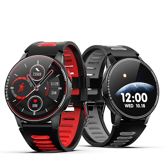 L6 IP68 Waterproof Smart Watch Fitness Tracker Heart Rate Monitor Smart Whatch Men Women Smartwatch For Android IOS