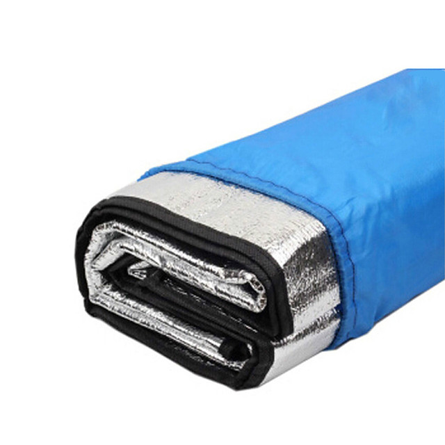 Picnic Pad Picnic Blanket Outdoor Camping Waterproof Moistureproof Aluminum Foil 200*200 cm for 5 pcs Camping / Hiking All Seasons Silver