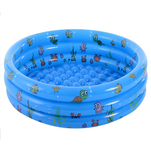 Kiddie Baby Pool Swimming Pool Mixed Material Summer Swimmer Daily Wear Pool 1 pcs Unisex Kid's Adults