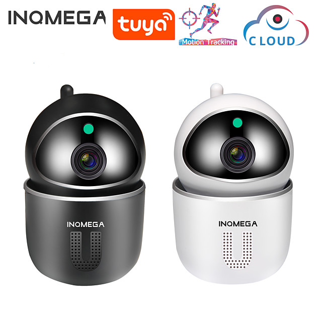 INQMEGA 1080P Cloud IP Camera Auto Tracking Surveillance MINI Camera Home Security Wireless WiFi Network CCTV Camera APP TUYA