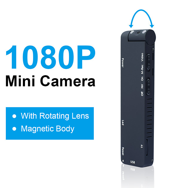 MD14L Mini Camera Micro Camcorder HD Night Vision 1080P Aerial Sports Smart DV Voice Sport Micro Cam