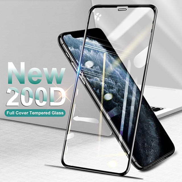 Curved Full Cover Protective Glass On The For iPhone SE 11 Pro Max X Xs Tempered Screen Protector For iPhone XR 8 7 Plus Glass Film