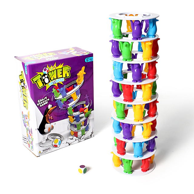 1 pcs Stacking Game Educational Toy Plastic Professional Novelty Balance Kid's Adults' Boys' Girls' Toys Gifts