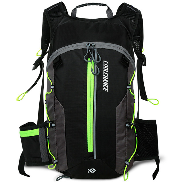 10 L Daypack Cycling Backpack Waterproof Multi layer Lightweight Bike Bag Terylene Nylon Bicycle Bag Cycle Bag Cycling Outdoor Exercise Multisport / Reflective Strips