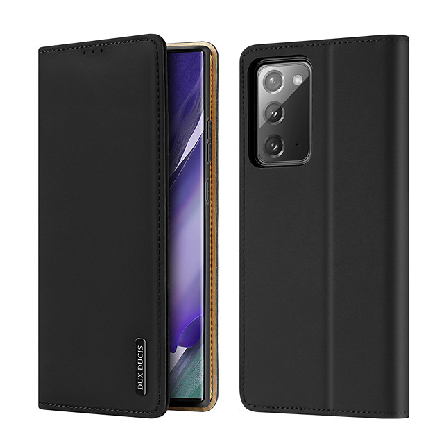 Case For Samsung Galaxy S9 Card Holder Shockproof  Flip Full Body Cases Solid Colored PU Leather  TPU Genuine Leather WALLET
