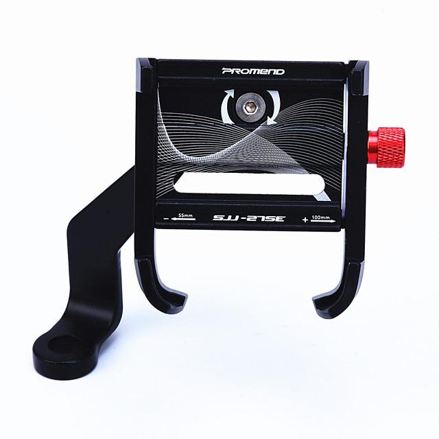 Bike Phone Mount Adjustable Portable Lightweight for Road Bike Mountain Bike MTB Folding Bike Aluminum Alloy Cycling Bicycle Black Red Grey 1 pcs