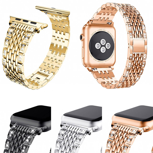 Watch Band for Apple Watch Series 6 SE 5 4 3 2 1 Apple Business Band Stainless Steel Wrist Strap