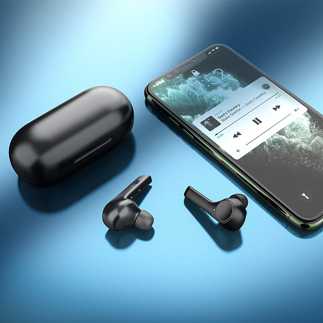 H2 Wireless Earbuds TWS Headphones Bluetooth5.0 HIFI with Charging Box Auto Pairing for Mobile Phone