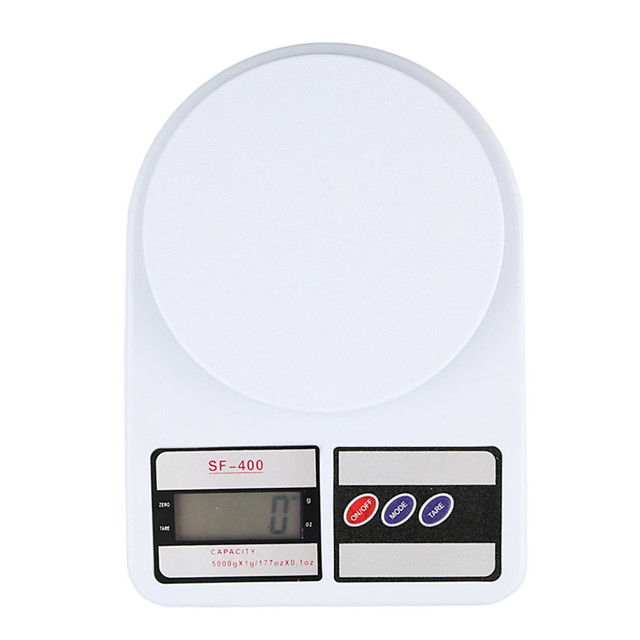Portable 5kg 1g Digital Scale LCD Electronic Scales Steelyard Kitchen Scales Postal Food Balance Measuring Weight Libra Use 2 AA batteries not included