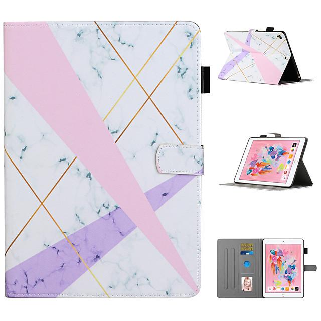 Case For Apple iPad Mini 1 2 3 iPad Mini 4 iPad Mini 5 Card Holder with Stand Pattern Full Body Cases Animal Tree Flower PU Leather