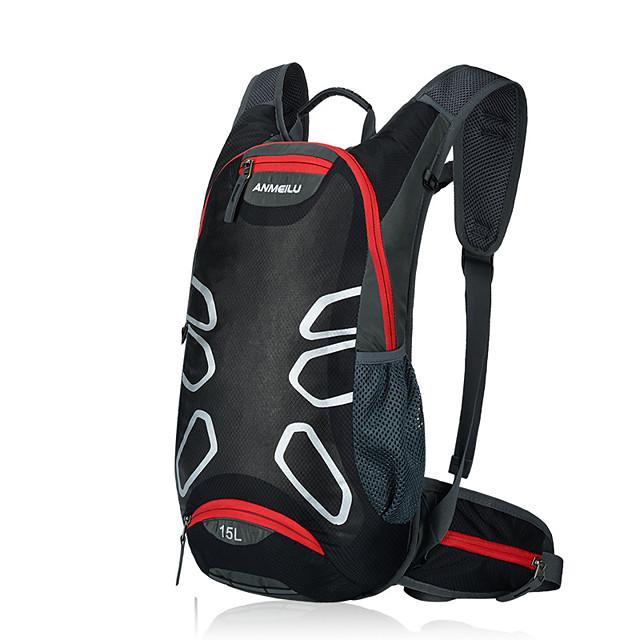 12 L Cyklistika Backpack Voděodolný Přenosný Lehká váha Cyklistická taška Nylon Taška na kolo Taška na kolo Turistika Běh Plážové