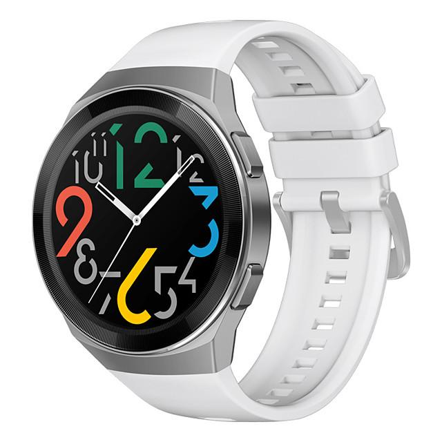 Watch Band for Huawei Watch GT 2e Huawei Sport Band / Classic Buckle Silicone Wrist Strap Original Watch Strap