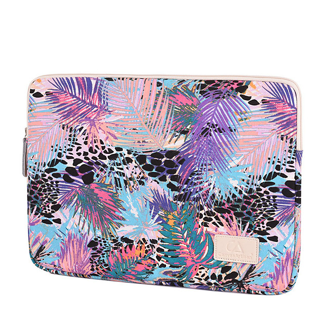 11.6 Inch Laptop / 12 Inch Laptop / 13.3 Inch Laptop Sleeve / Tablet Cases Polyester Mixed Color / Leopard Print for Men for Women for Business Office Waterpoof Shock Proof