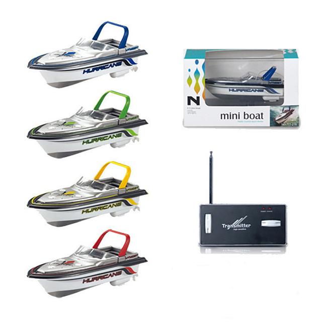 RC Boat 777-218 Remote Control Boat Plastic Channels KM/H Mini / Creative