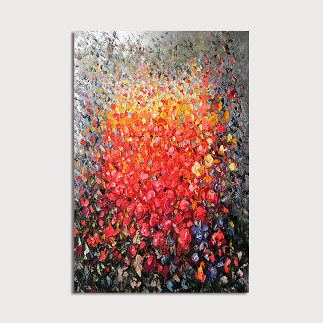 Oil Painting Paint Handmade Abstract Canvas Art Modern Art with Stretcher Ready to Hang With Stretched Frame