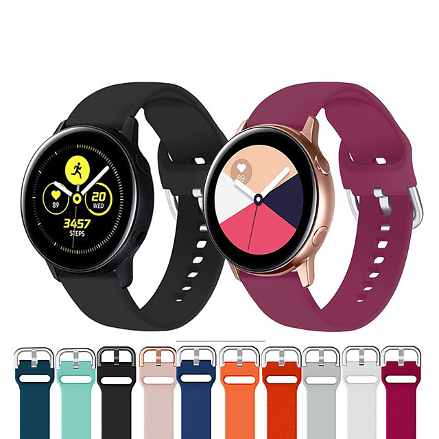 Watch Band for Samsung Galaxy Active Samsung Galaxy Sport Band Silicone Wrist Strap