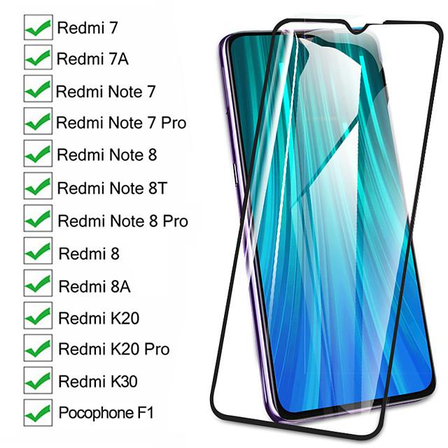 1/2/3/5/10 PCS 9D Screen Protective Glass On The Redmi 8 8A 7 7A K20 K30 For Xiaomi Pocophone F1 Redmi Note 8 8T 7 Pro Xiao Mi 10 Pro Tempered Glass Film Case