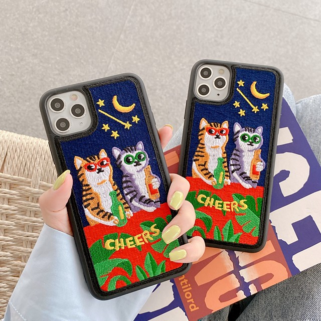 Case For Apple iPhone 11 / iPhone 11 Pro / iPhone 11 Pro Max Pattern Back Cover Word / Phrase TPU