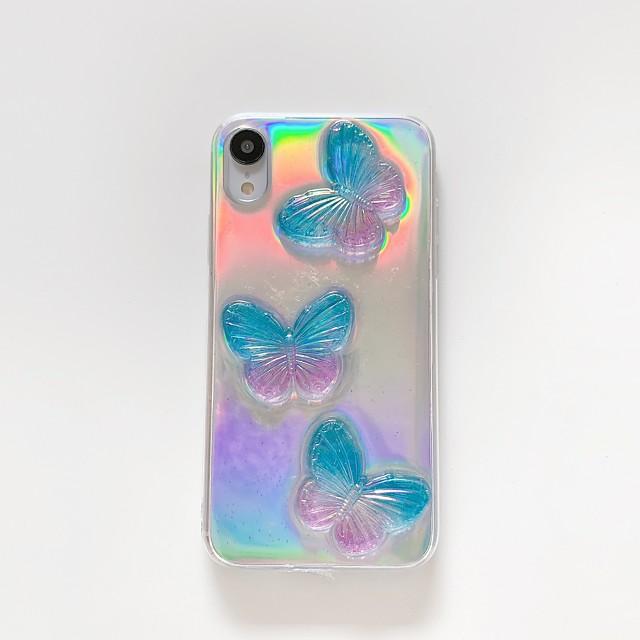 Case For iPhone 7 8 7 Plus 8 Plus X XS XR XS Max SE 11 11 Pro 11 Pro Max Transparent Pattern Back Cover Transparent 3D Cartoon TPU