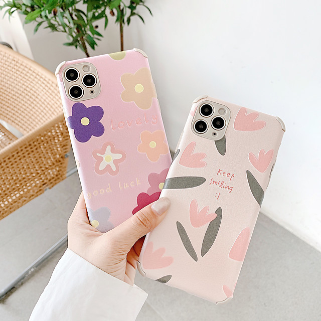 Case For Apple iPhone 7 7Plus iPhone 8 8Plus iPhone X iPhone XS XR XS max iPhone 11 11 Pro 11 Pro Max SE Pattern Back Cover Word Phrase TPU PC