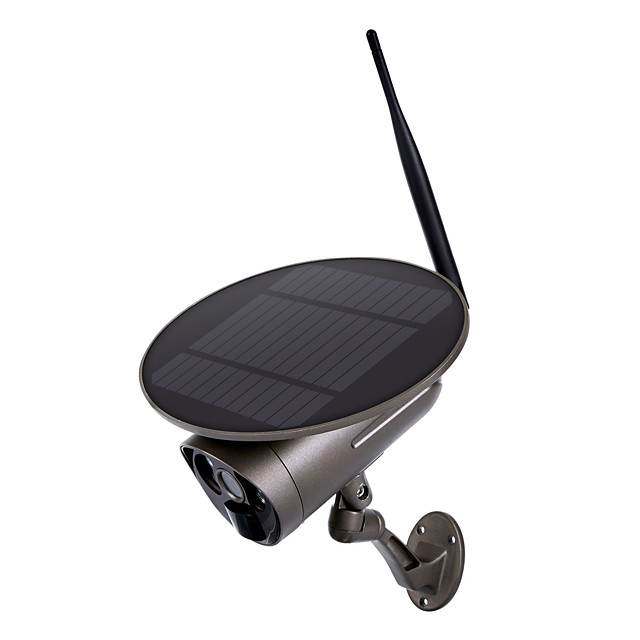 ESCAM QF360 1080P Full HD Outdoor Rechargeable Battery Solar Panel PIR Alarm WiFi Camera All Metal Shell