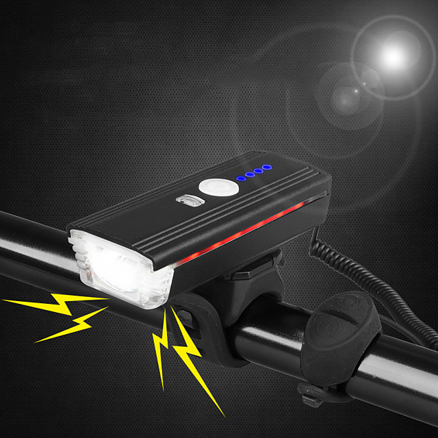 Bike Light Front Bike Light Bicycle Cycling Waterproof Portable New Design Durable USB 300 lm USB White Everyday Use Cycling / Bike / Aluminum Alloy