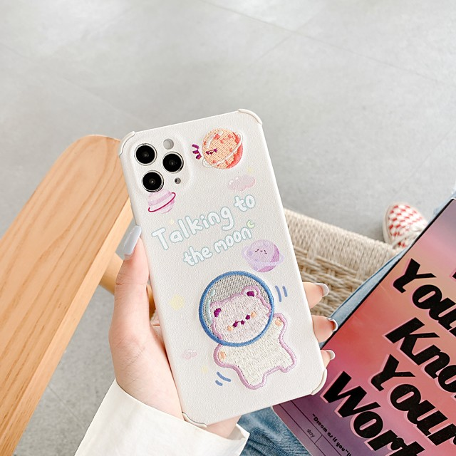 Case For iPhone 11 Pattern Back Cover Word Phrase Animal Cartoon TPU Case For iPhone 11 Pro Max / SE2020 / XS Max / XR XS 7 / 8 7 / 8 plus
