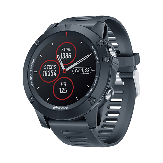 Zeblaze VIBE 3 GPS Multi Sports Modes Smartwatch Heart Rate Waterproof/Better Battery Life GPS Smart Watch For Android/IOS