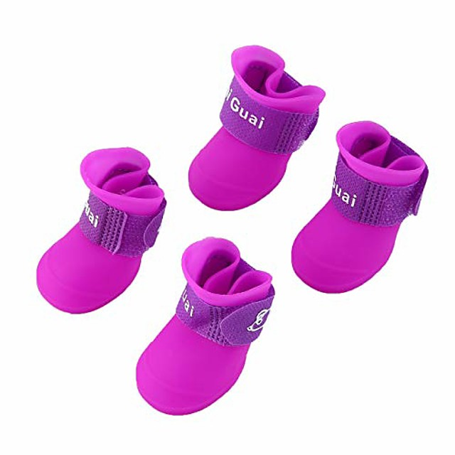 dog boots waterproof shoes for small dogs,pet dogs rain boots,creative design lovely comfortable dog shoes
