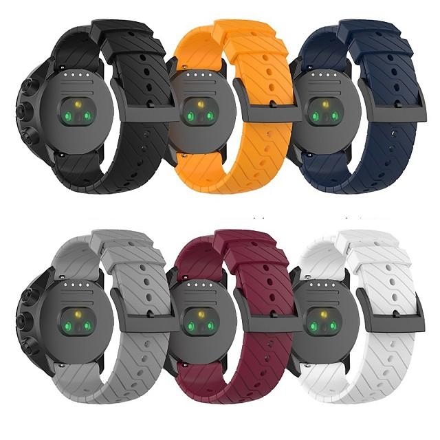 Watch Band for SUUNTO 7 Spartan Sport Suunto Classic Buckle Silicone Wrist Strap