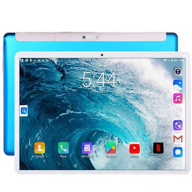 BDF S10 10.1 inch Phablet / Android Tablet (Android 7.0 1280 x 800 Quad Core 1GB+32GB) / 5 / Micro USB / SIM Card Slot / 3.5mm Earphone Jack