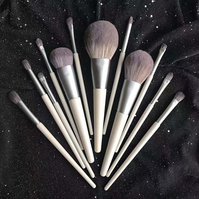 Makeup Brushes 12Pcs Makeup Brush Set Premium Synthetic Brush Cosmetics Foundation Concealers Powder Blush Blending Face Eye Shadows  Brush Sets