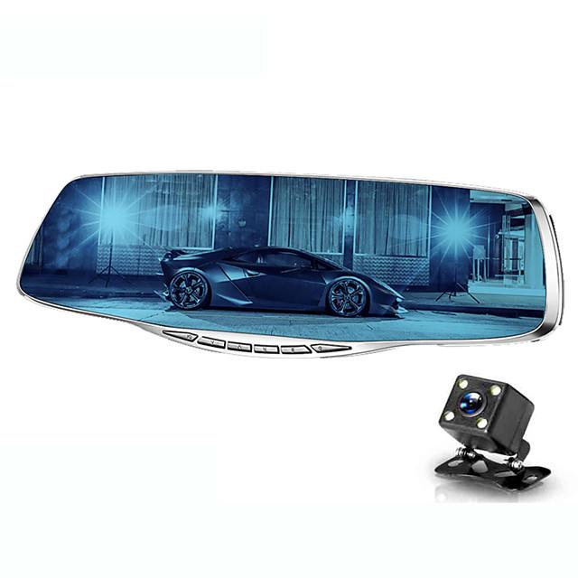 1080p Nytt Design / Oppstart automatisk opptak Bil DVR 170 grader Bred vinkel 4.3 tommers TFT / LTPS / LCD Dash Cam med Night Vision / G-Sensor / Loop-opptak Bilopptaker