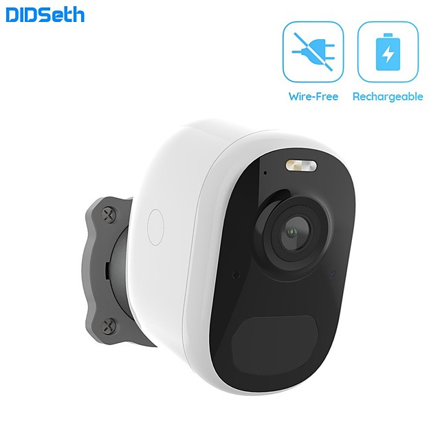 DIDSeth Wireless Home Security Wifi IP Camera 1080P Battery Powered Rechargeable Pir Alarm Audio Low Power Surveillance Camera