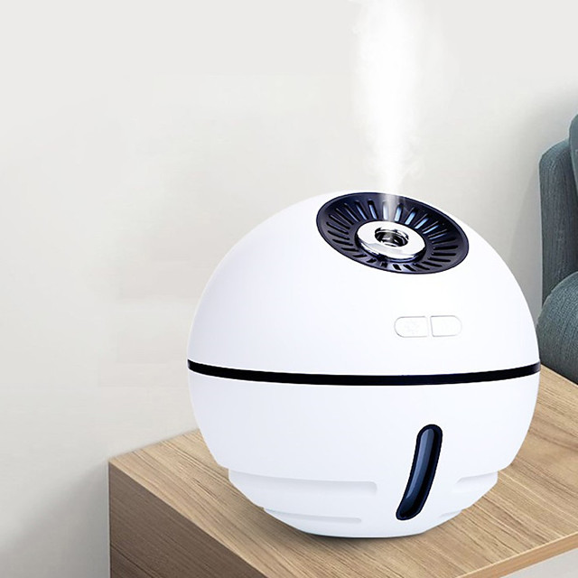 Creative Usb Plug-In Space Ball Humidifier Four In One Multi Function Silent Spray Seven Color Lamp Humidifier