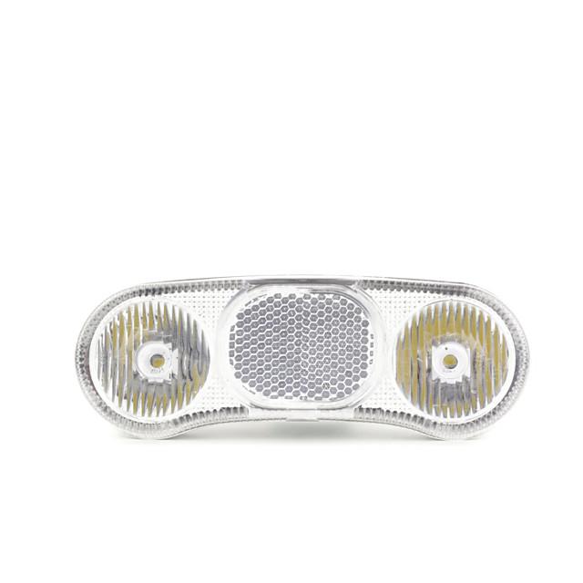 [al16-tk] bike headlight 400 lumens for side dynamo and hub 6v 2.4-3w one year guaranty