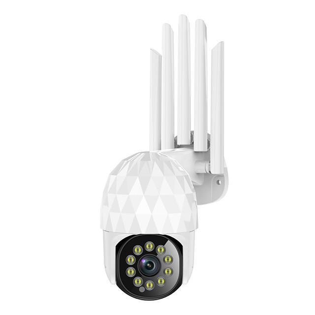 10 LED light HD 1080P WIFI IP Camera Two Way Audio Wireless Camera H.264 PTZ Auto Tracking Night Vision Camera