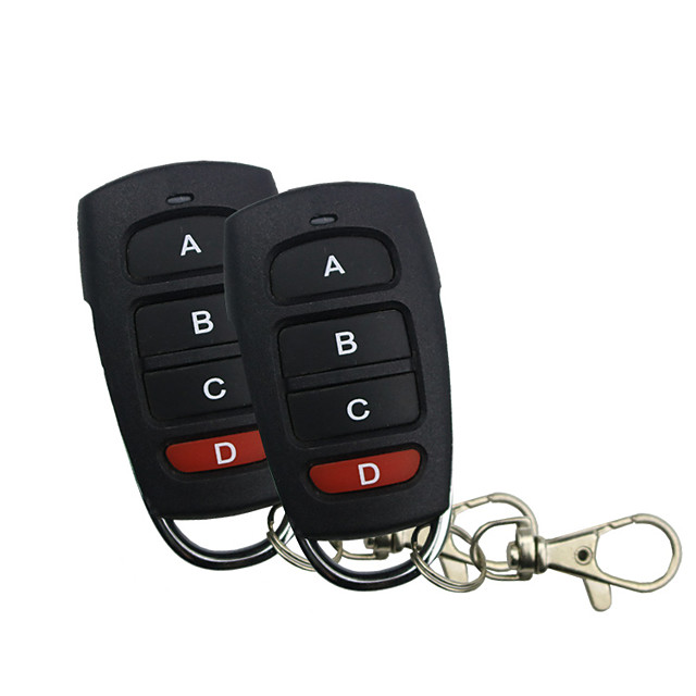 433.92MHz Car door lock Car Alarm Systems ABS For universal Levin / Verso / E260L All years Four-key copy remote controller can copy garage door electric door rolling door remote controller
