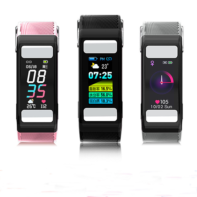 T9 Smart Wristband Support ECG+PPG/ Dynamic Heart rate/ HRV Body-fat Monitor
