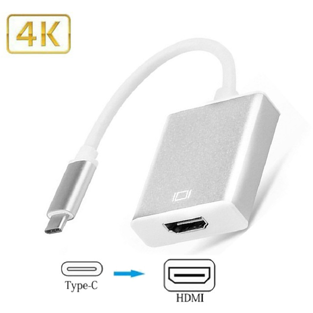 Type- C HDMI Adapter Cable USB-c To HDMI Apple Mac-book Switch Converter for Samsung Xiaomi Huawei S20 P40 Game Meeting TV Online