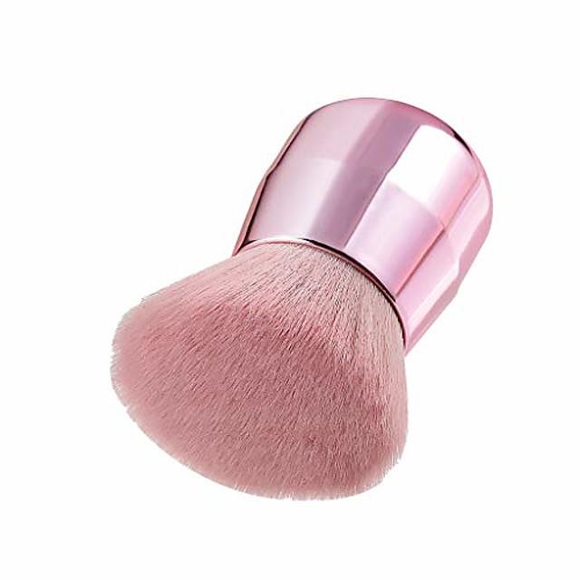 2pcs foundation cosmetic eyebrow eyeshadow brush makeup brush sets tools (b)